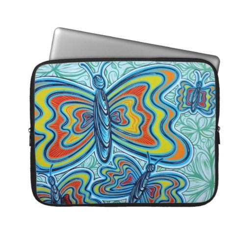 LAPTOP SLEEVE: We are selling Colourful Butterflies Laptop Sleeve in 3 sizes.