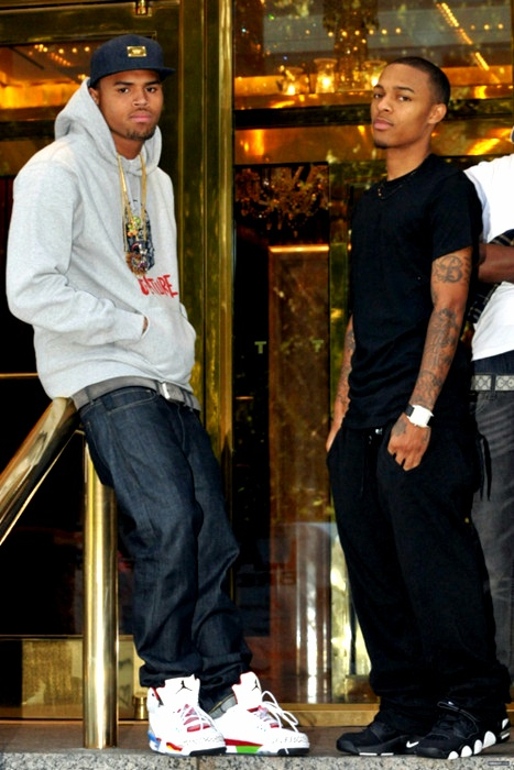 Chris Brown & Bow Wow, Chris is so fine it don't matter who stands next to him