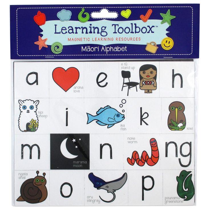 Magnetic Maori Alphabet | Teaching Resources