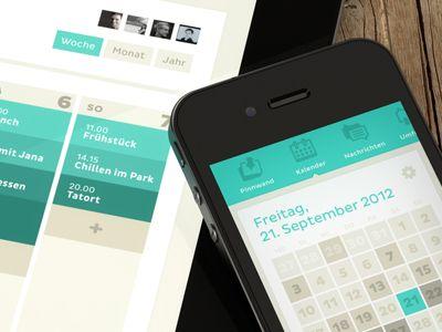 Clyp - Calender - iPhone + iPad