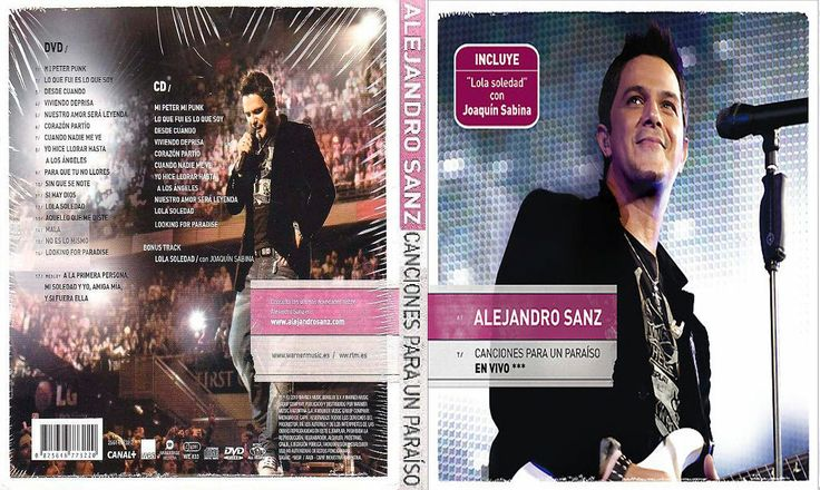 Full DVD concierto de Alejandro Sanz Canciones para un paraiso