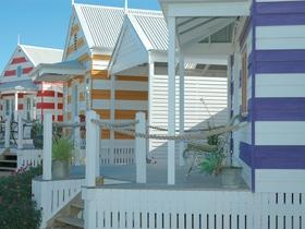 Middleton Beach Huts - truly unique accommodation. Perfect for a break with family or friends.