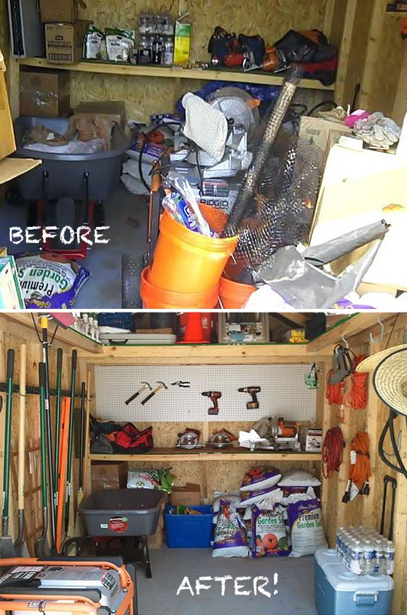 19 Best Shed Organization Ideas Amp Tips Images On Pinterest