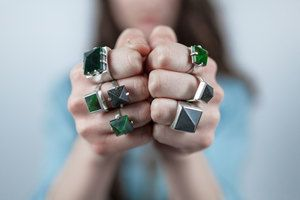 Lacebark Ring Silver — Marama