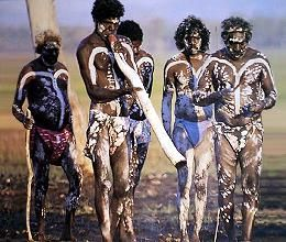 The Aborigines. (The people who first settled in Australia)  Had the Religion of Aboriginal.
