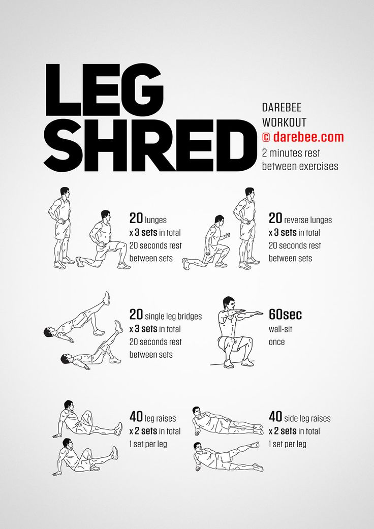 Leg Shred Workout