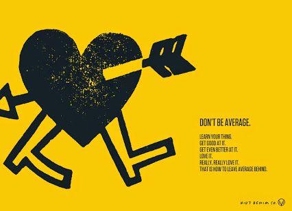 Don't be average. #hiutdenim #denim #ideas