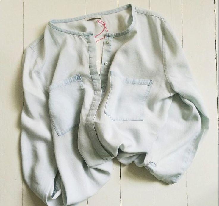 Denim shirt in tencel Available online: http://www.sofinah.fi/product/424/shirt-kassandra-denim-sky