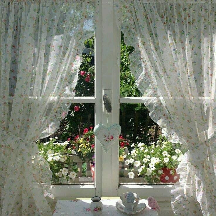 Perfect cottage window.