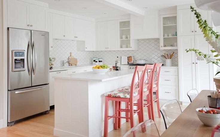 De Cozinha Renovadas, Cadeiras Da Cozinha e Reforma De Cadeira Da