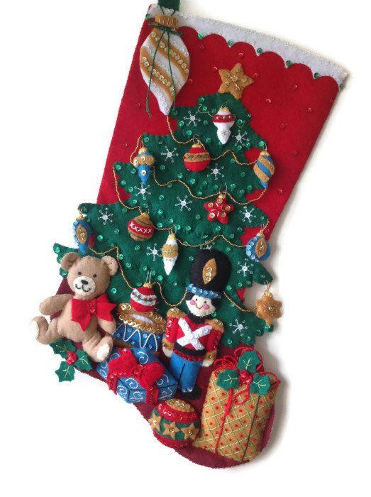 Bucilla Stockings: Under the Tree