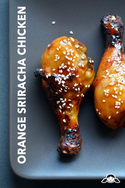 Orange Sriracha Chicken