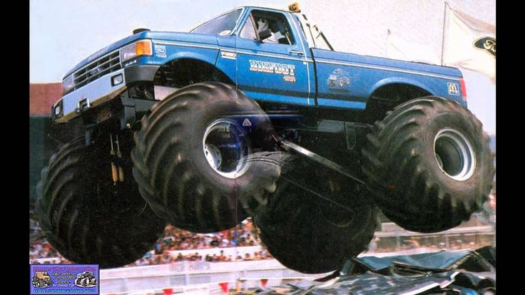 Extreme bigfoot monster truck