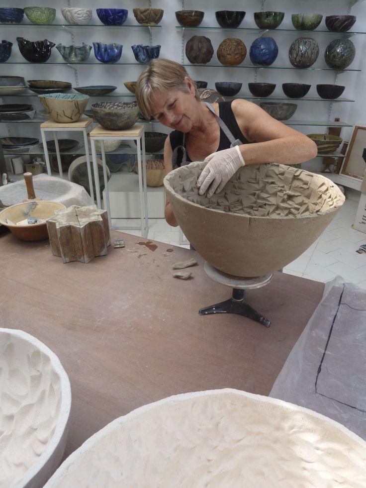 Ceramist Dorthe Steenbuch Krabbe web: http//:www.dorthesteenbuchkrabbe.com