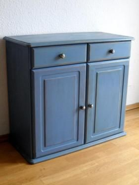 Kommode Schrank Shabby Chic Vollholz Kiefer In Berlin