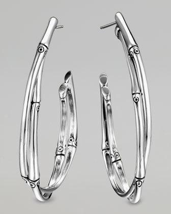 John Hardy Bamboo Earrings Jewelry I 3 Pinterest Jewellery And Hoop