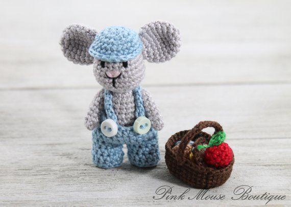 Crochet Tiny Mouse – Craft Ideas   407x570