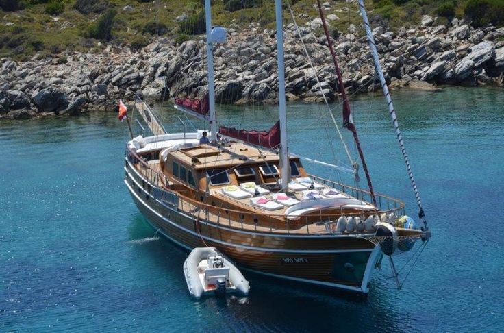 can't go wrong with the crew and accommodation of #gulet WHY NOT sleeps 8  #sail #dodecanese