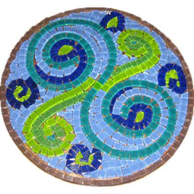 Free Patterns Mosaic Stepping Stones | mosaic group of mosaic contain mosaic contemporary travertine around ...