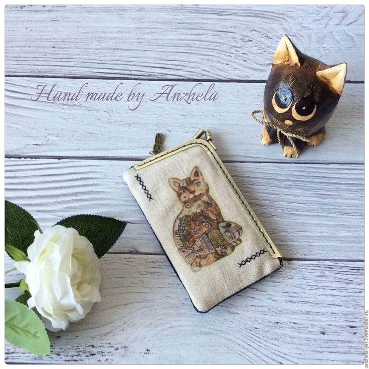 Купить Чехол для мобильного телефона - комбинированный, чехол для телефона, чехол для мобильного, подарок, Аксессуары handmade