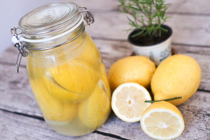 """モロッコ風""""塩レモン"""" シトロン コンフィ ☆ Citron confit (limoni in conserva) : Torino Happy Life トリノ ハッピー ライフ -Le ricette di Rie-"""