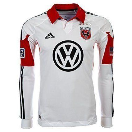 Adidas MLS DC United Player Jersey White white Size:XL