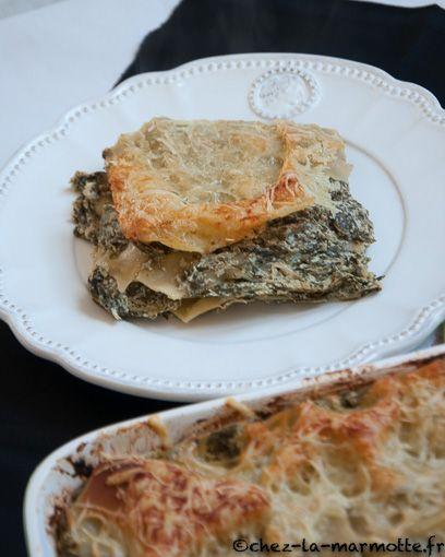 Lasagnes blettes et ricotta – Marmotte cuisine !