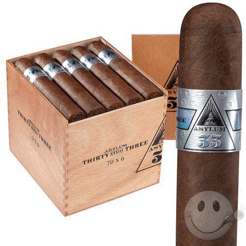 Asylum 33 Cigars