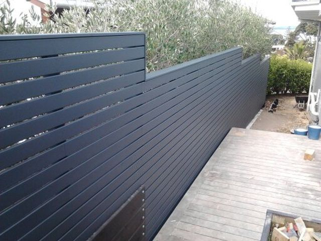 This is a top of the line fence: Cladding is painted premium decking smooth on both sides, dressed capping, hand nailed for a top quality fi...