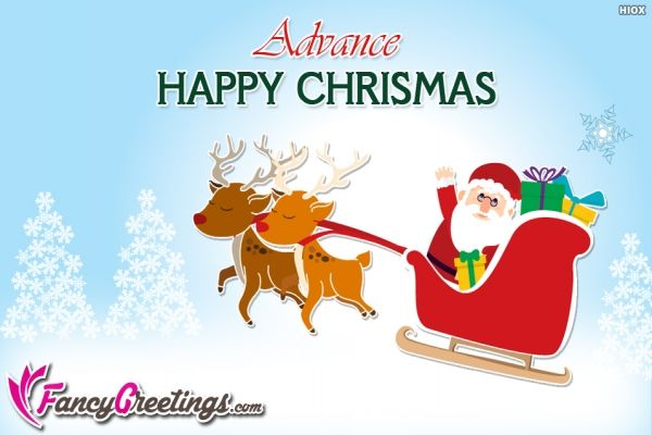 Happy Chrismas In Advance Pic