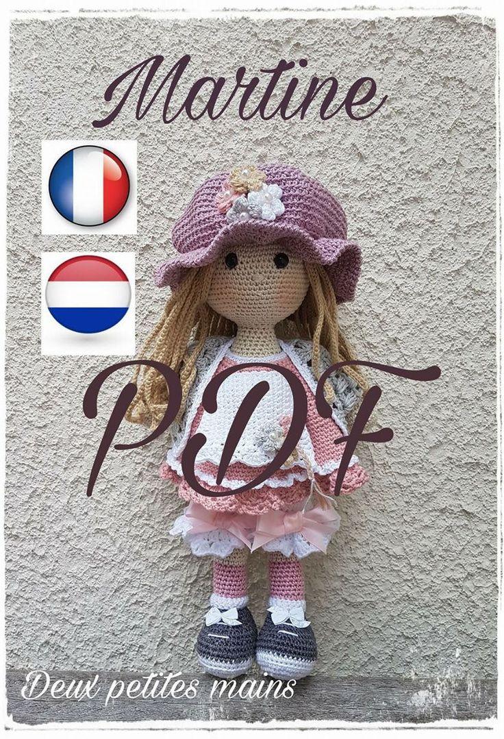 Martine Patron crochet PDF , inspirée de Sarah Kay, Disponible en Français et Néerlandais by deuxpetitesmains on Etsy https://www.etsy.com/il-en/listing/540350953/martine-patron-crochet-pdf-inspiree-de