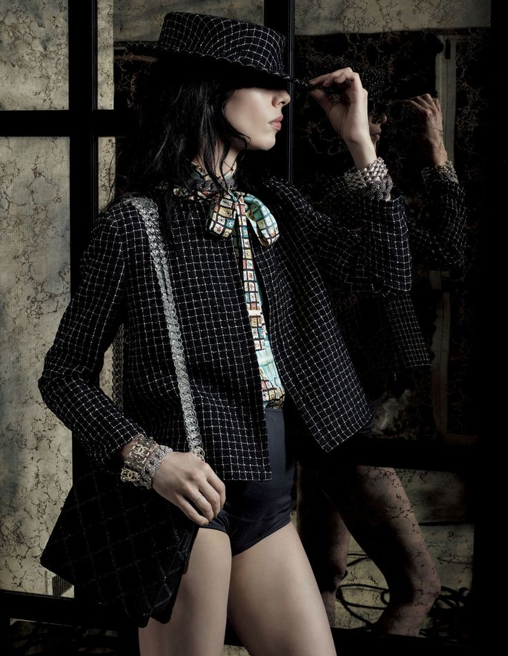 Jamie Bochert by Mark Segal for Vogue Japan February 2016
