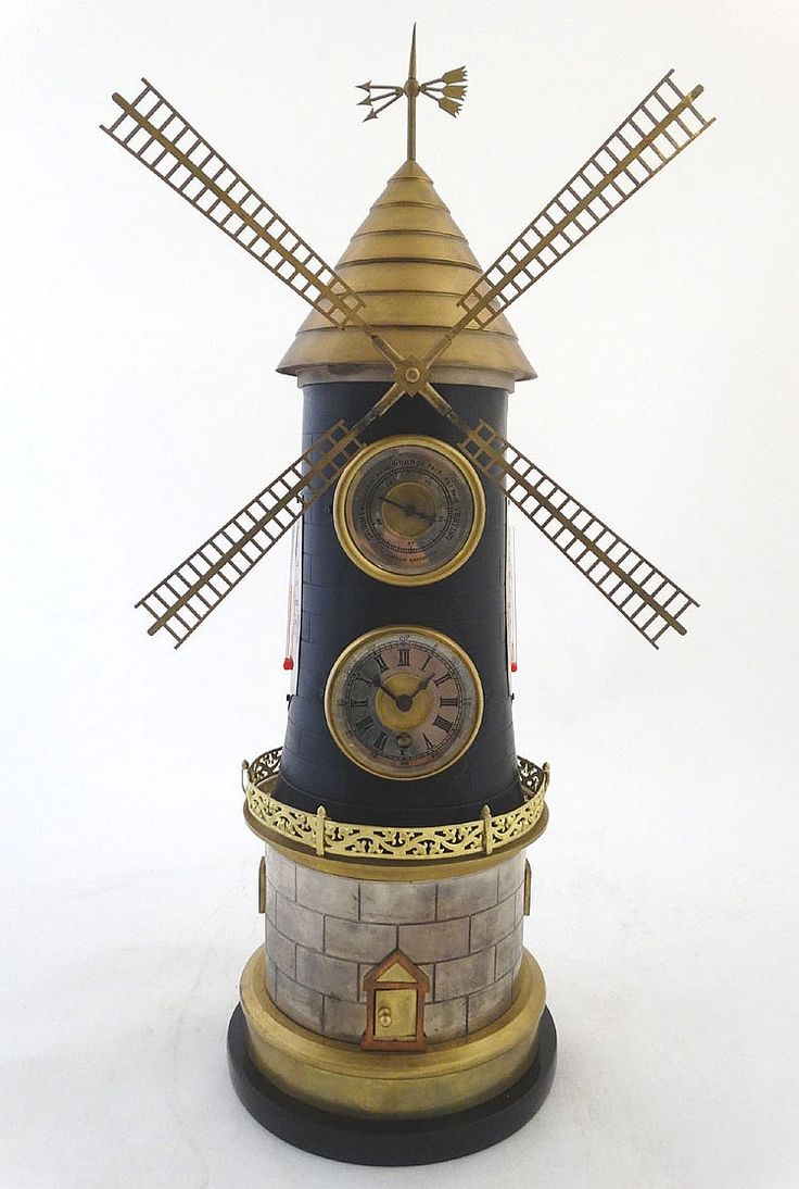 Buy online, view images and see past prices for Automaton Novelty Clock : a silvered and gilt brass Windmill clock ( timep. Invaluable is the world's largest marketplace for art, antiques, and collectibles.