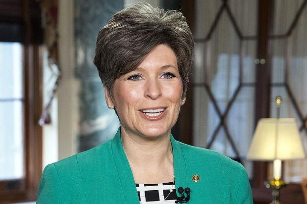 Joni Ernst's family received nearly half a million dollars in federal farm subsidies. Here we go again. DB!