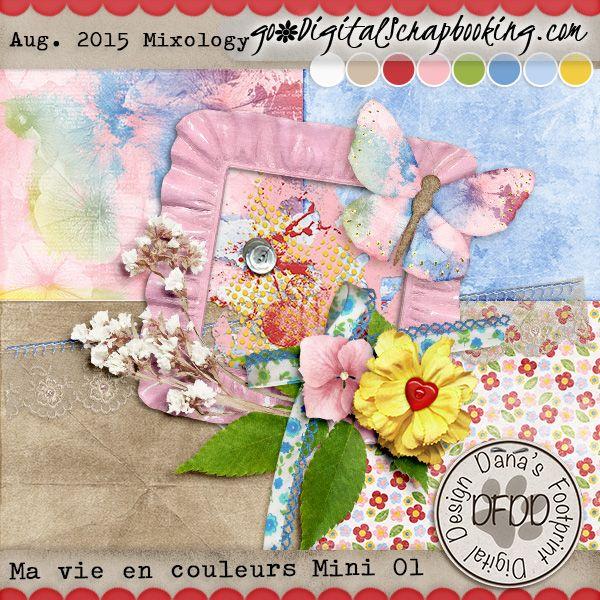 Ma vie en Couleurs (Life in colour) Mini 01