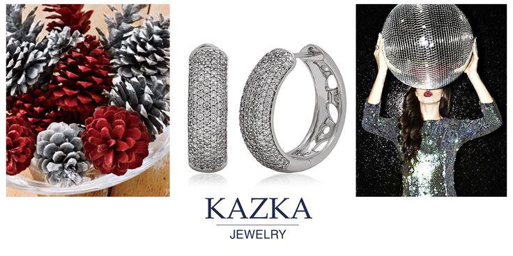 А вы готовы к празднованию нового года? Выбирайте яркие наряды и сияющие бриллианты. А завершить образ поможет ярко-красная помада. Такое сочетание сделает вас королевой вечеринки.  Приобрести со скидкой за 73 550 грн. http://kazka.ua/zolotie-serezhki-1s033-0093-1s033-0093/  #kazkajewelry #украшение_kazkajewelry #jewelry #earrings #gold #white #diamonds #newyear #party #red #silver