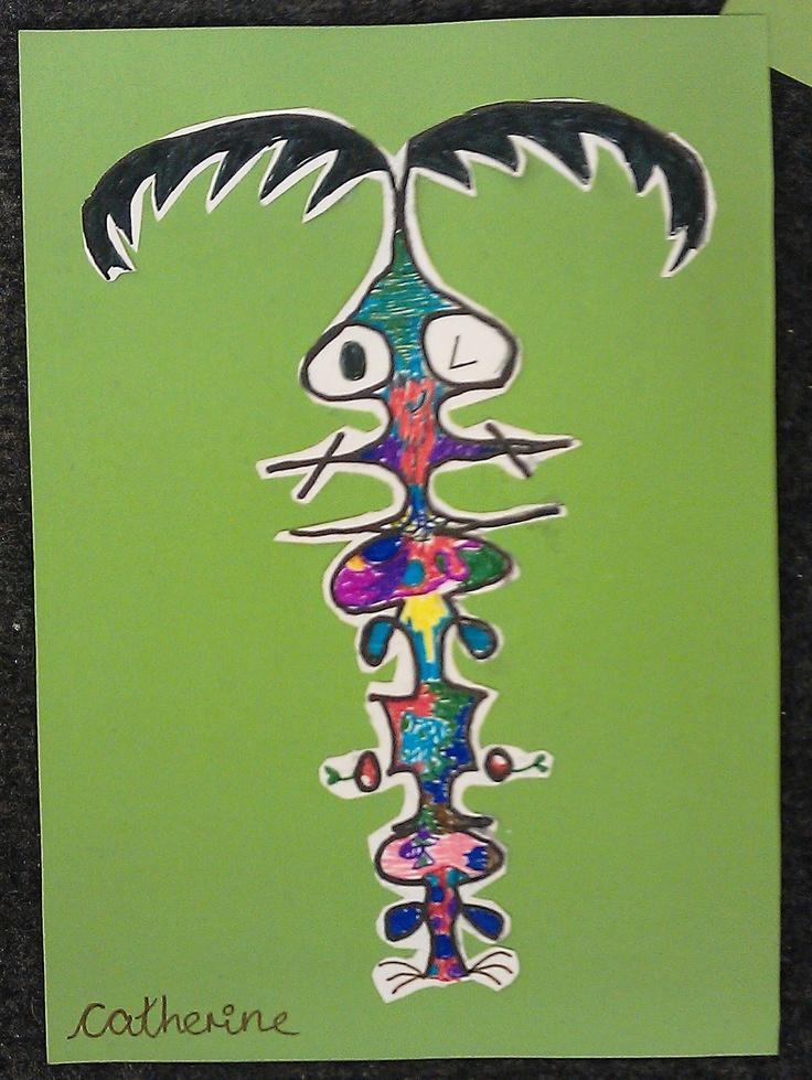 name art kids   ARTventurers - art and crafts for kids: Name art!