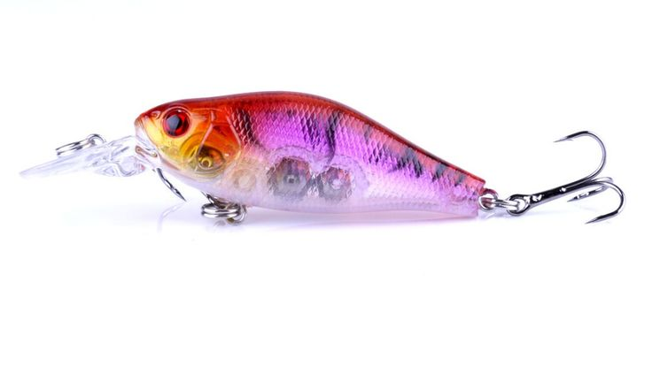 70MM 8G HOT Crankbaits Fishing Lures with rolls isca macro tiger pesca ICE bass catfish carp bass panfish trout walleye tilapia #Affiliate