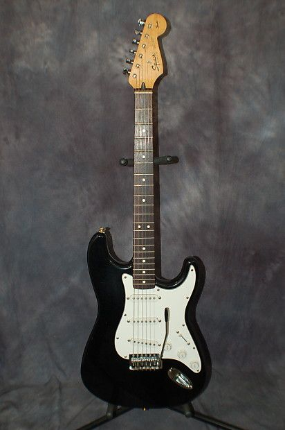 Today, Lawman Guitars is Presenting...  A Super Cool Made in Mexico Fender Squire Strat that I just got back from our Tech and its setup with new strings and great action. give us a call. Lawman Guitars. 515-864-6136