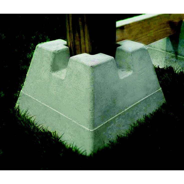 Handi Block Lightweight Concrete Deck Block Lowe S