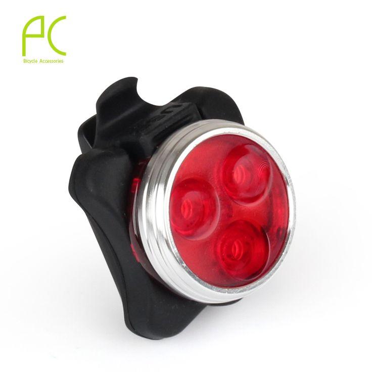 PCycling 사이클링 자전거 자전거 3 LED 헤드 전면 후면 테일 경고 USB 라이트 미등 충전식 4-modes 방수 빛