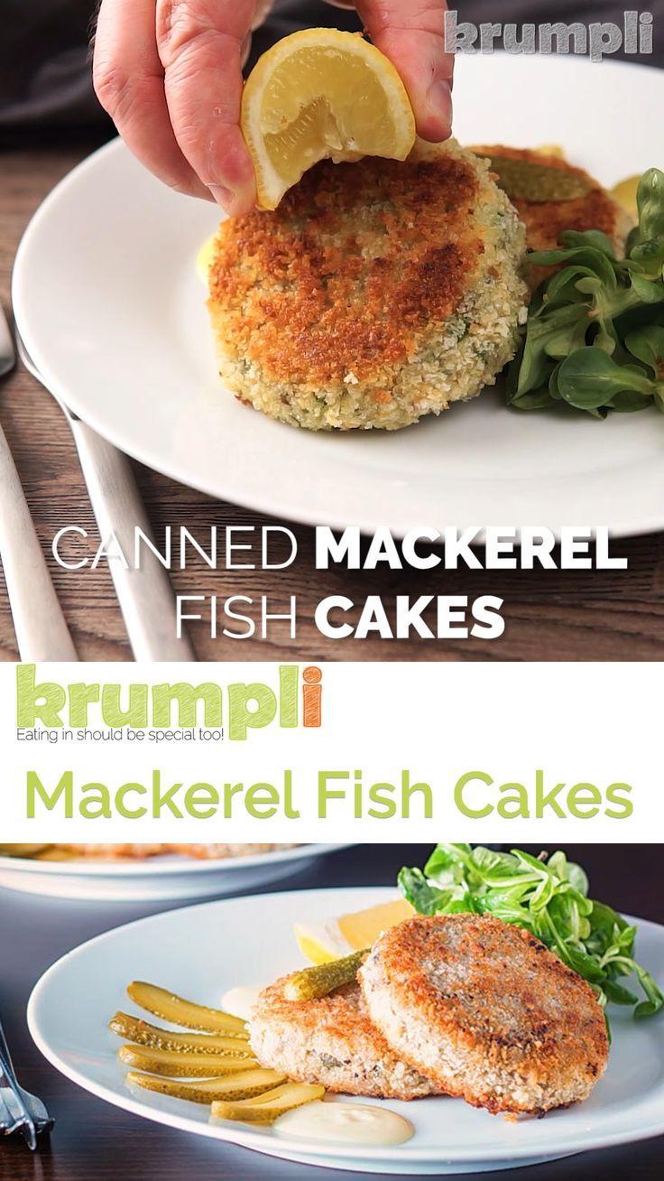 canned mackerel fish cakes  recipe in 2020  mackerel