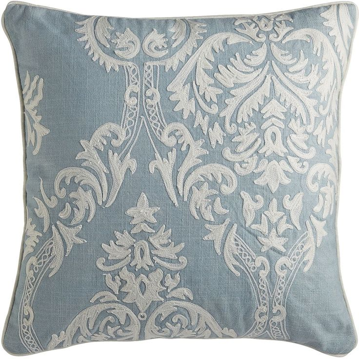 Smoke Blue Throw Pillow : 42 best images about 4914: Kathy s Livingroom on Pinterest Taupe, Trunk table and Shag rugs
