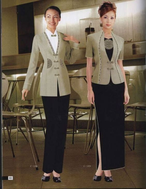 17 best images about aw uniforms women on pinterest for Spa uniform bangkok
