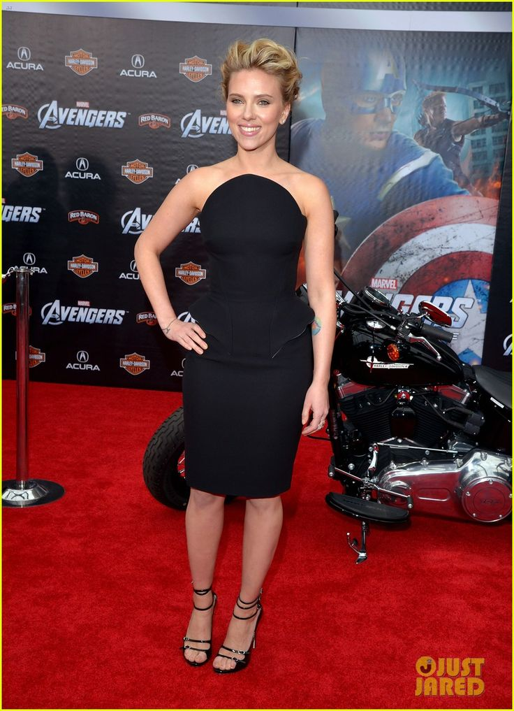 At the premiere for The Avengers (4/11/2012)