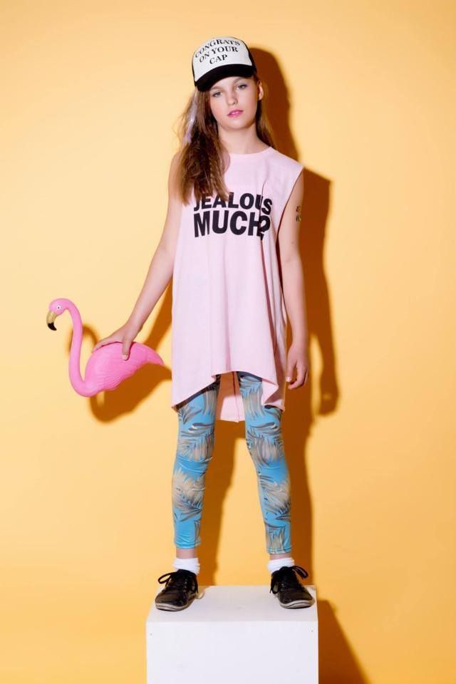 fot.i styl.Pink Wings model: Nadia Leggins: Icon Store