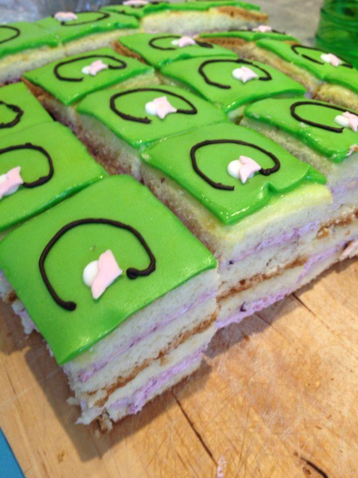 Huisgemaakte taartjes met A bit of Lilli logo