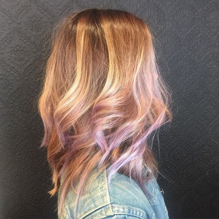 Birthday hair by Jonathan on this sweetheart! We are loving that dusty lavender  #lavender #lavenderhair #purps #purple #silver #dusty #summertime #brightenitup #balayage #ochair #costamesahair by blancnoirhair