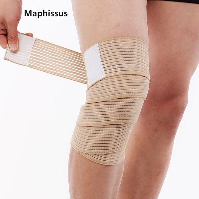 New Arrival 40cm 90cm Elastic Bandage Tape Sports Knee Support