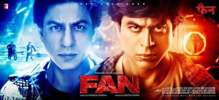 Here's the new poster of Shah Rukh Khan's upcoming movie 'FAN'